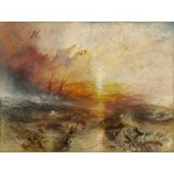 The Slave Ship (1840) by Joseph Mallord William Turner