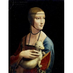 Lady with an Ermine 1489-1490 by Leonardo Da Vinci