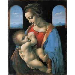Madonna Litta (c. 1490) by Leonardo Da Vinci