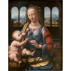 The Madonna of the Carnation by Leonardo Da Vinci