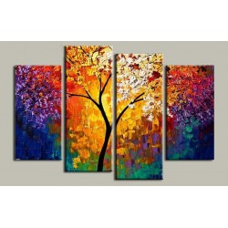 Color Abstract V | Oil Painting Abstract art Gallery