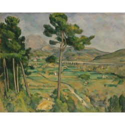 Mont Sainte Victoire by Paul Cezanne by Paul Cezanne