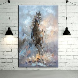 Horse Abstract Wall Art