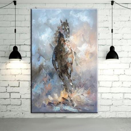 Horse Abstract Wall Art