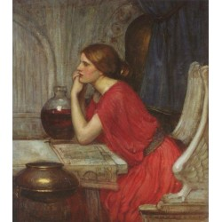 Circe1911 by John William Waterhouse-Art gallery oil painting reproductions