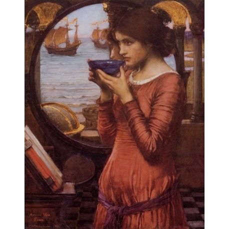 Destiny 1900 by John William Waterhouse-Art gallery oil painting reproductions