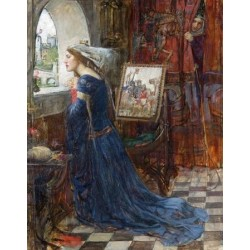 Fair Rosamund 1916 by John William Waterhouse-Art gallery oil painting reproductions