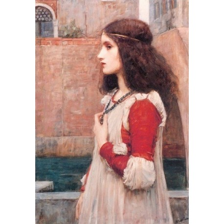 Juliet 1896 by John William Waterhouse-Art gallery oil painting reproductions