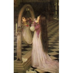 Mariana in the South 1897 by John William Waterhouse-Art gallery oil painting reproductions