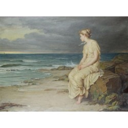 Miranda 1875 by John William Waterhouse-Art gallery oil painting reproductions
