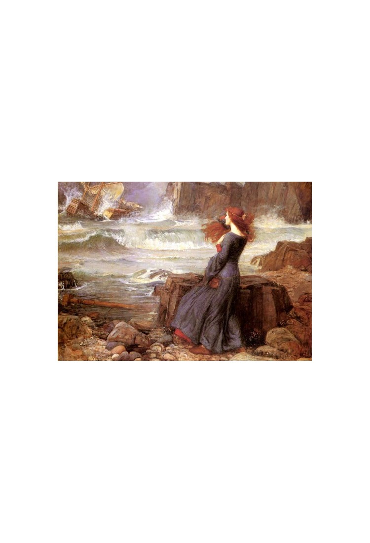 Miranda The Tempest 1916 By John William Waterhouse Art