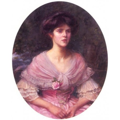Mrs A. P. Henderson 1909 by John William Waterhouse-Art gallery oil painting reproductions
