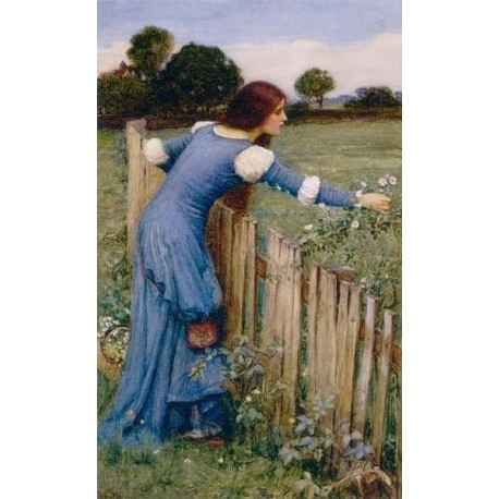 Spring 1900 by John William Waterhouse-Art gallery oil painting reproductions