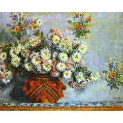 Flowers and Fruit by Claude Oscar Monet - Art gallery oil painting reproductions