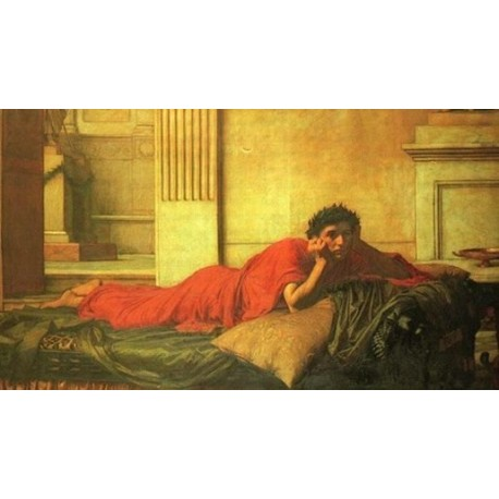 The Remorse of the Emperor Nero after the Murder of his Mother 1878 by John William Waterhouse