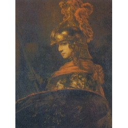 Alexander the Great  1665 by Rembrandt Harmenszoon van Rijn-Art gallery oil painting reproductions