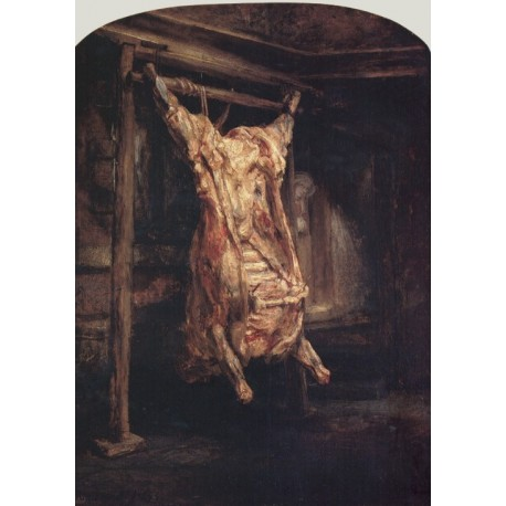 Carcass Of Beef 1657 By Rembrandt Harmenszoon Van Rijn Art
