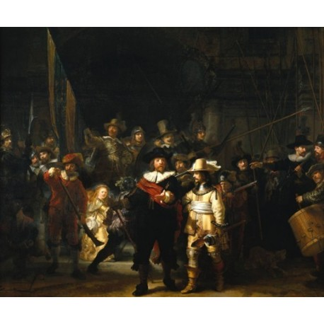 """The Night Watch 1642"" by Rembrandt Harmenszoon van Rijn ..."