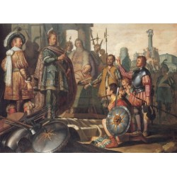 History Painting 1626 by Rembrandt Harmenszoon van Rijn-Art gallery oil painting reproductions