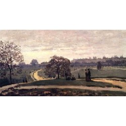 Hyde Park London by Claude Oscar Monet - Art gallery oil painting reproductions