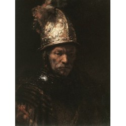 Man in a Gold Hat 1650 by Rembrandt van Rijn--Art gallery oil painting reproductions