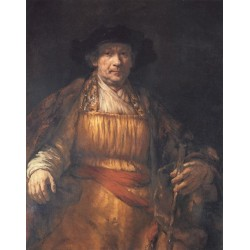 Self-Portrait 1658 by Rembrandt Harmenszoon van Rijn-Art gallery oil painting reproductions