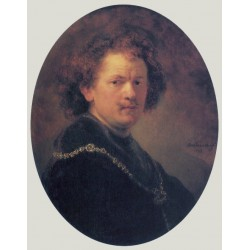 Self Portrait 1633 by Rembrandt Harmenszoon van Rijn-Art gallery oil painting reproductions