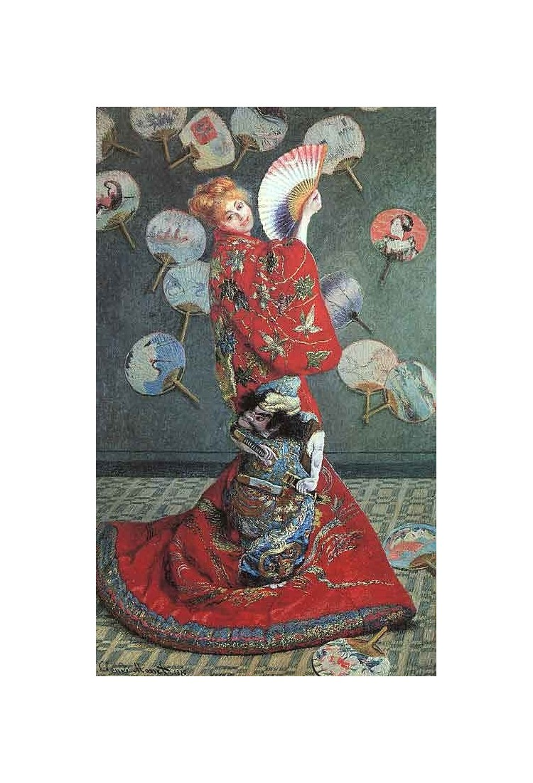 la japonaise costume by claude oscar monet art gallery oil. Black Bedroom Furniture Sets. Home Design Ideas