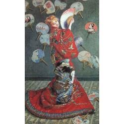 La Japonaise Costume by Claude Oscar Monet - Art gallery oil painting reproductions