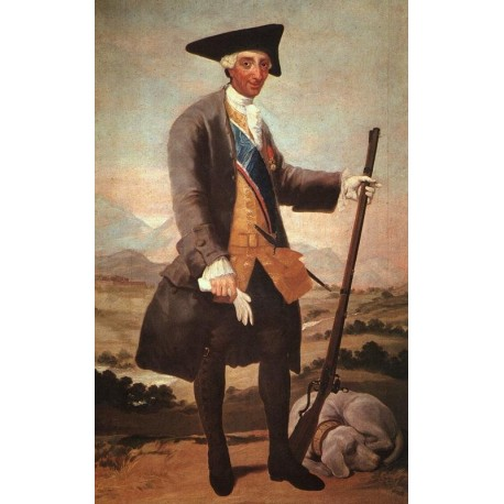 Charles III by Francisco de Goya-Art gallery oil painting reproductions