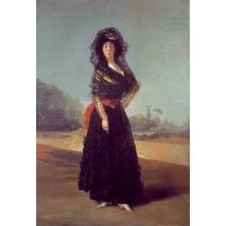 Duchess of Alba by Francisco de Goya-Art gallery oil painting reproductions