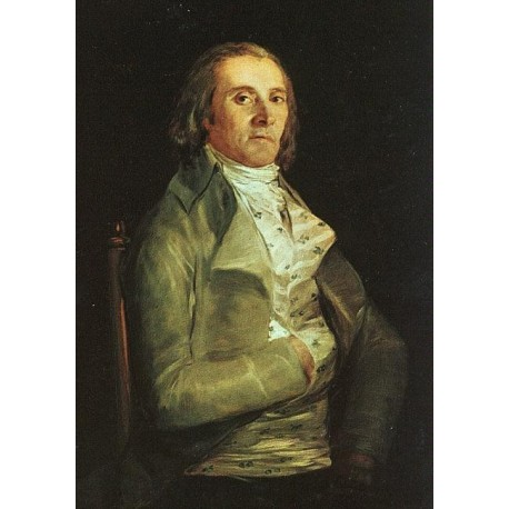 Dr. Pear by Francisco de Goya-Art gallery oil painting reproductions