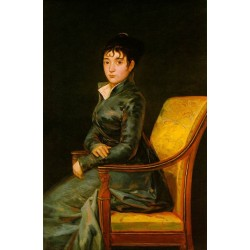 Dona Teresa Sureda by Francisco de Goya-Art gallery oil painting reproductions