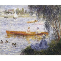 Boating at Argenteuil 1873 by Pierre Auguste Renoir-Art gallery oil painting reproductions