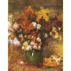 Bouquet 1885 by Pierre Auguste Renoir-Art gallery oil painting reproductions