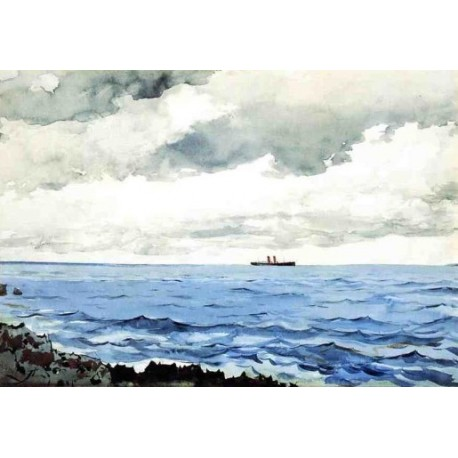 Bermuda by Winslow Homer - Art gallery oil painting reproductions