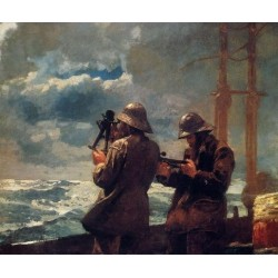Eight Bells by Winslow Homer - Art gallery oil painting reproductions
