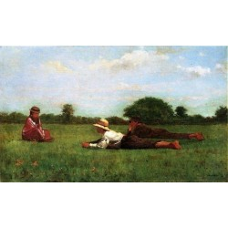 Enchanted by Winslow Homer - Art gallery oil painting reproductions
