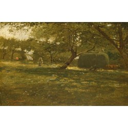 Harvest Scene by Winslow Homer - Art gallery oil painting reproductions