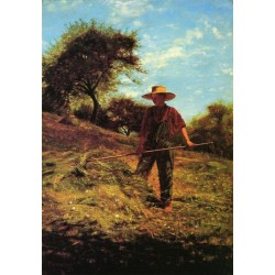 Haymaking by Winslow Homer - Art gallery oil painting reproductions