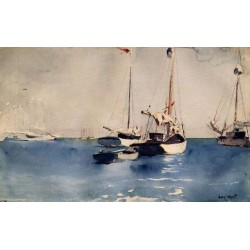 Key- West by Winslow Homer - Art gallery oil painting reproductions