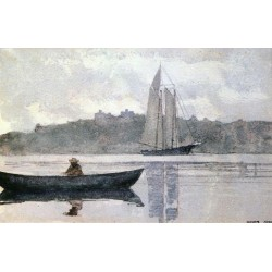Reflections Winslow Homer - Art gallery oil painting reproductions