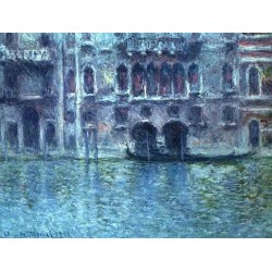 Palazzoda Mula at Venice by Claude Oscar Monet - Art gallery oil painting reproductions