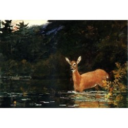 Solitude by Winslow Homer - Art gallery oil painting reproductions