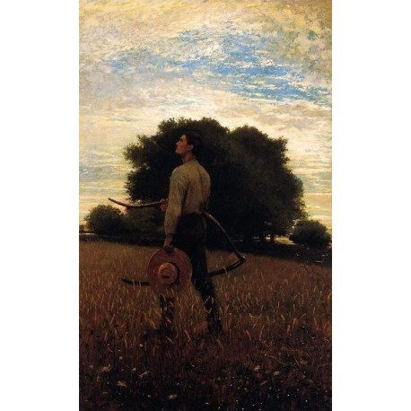 Song of the Lark by Winslow Homer - Art gallery oil painting reproductions