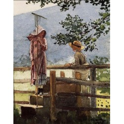 Spring by Winslow Homer - Art gallery oil painting reproductions