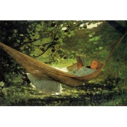 Sunlight and Shadow by Winslow Homer - Art gallery oil painting reproductions
