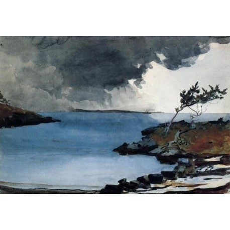 The Coming Storm by Winslow Homer - Art gallery oil painting reproductions