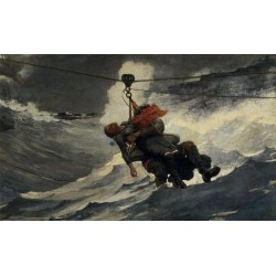 The Life Line by Winslow Homer - Art gallery oil painting reproductions