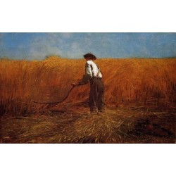 The Veteran in a New Field by Winslow Homer - Art gallery oil painting reproductions
